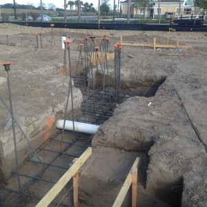 Commercial Bank Building, Foundations
